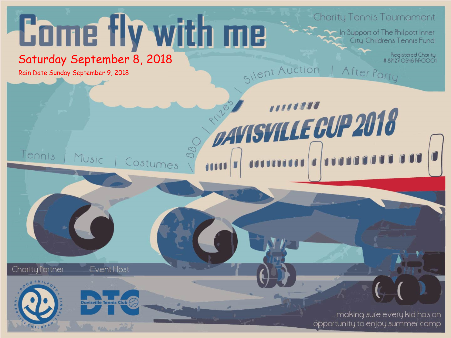 Davisville Cup 2018: Come fly with us!