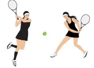 Register for ladies doubles tournament