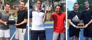 Congratulations to our 2018 men's doubles tournament champions!