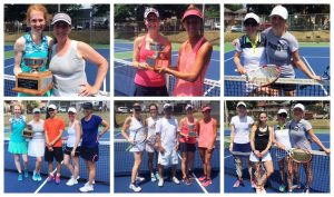 Congratulations to our ladies' doubles tournament champions!
