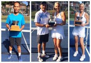 Congratulations to winners of Masters tournaments
