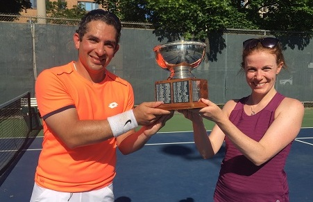 Congrats to mixed-doubles tourney winners!