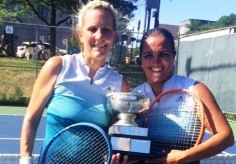 Congrats to women's doubles tourney winners