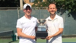 Congrats to men's doubles tournament winners