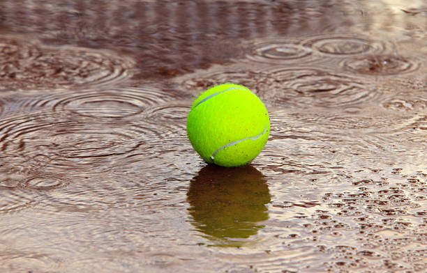 Rain causes delay in B singles tourney matches; BBQ postponed til next weekend