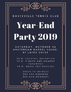 Have you registered yet for our year-end party!