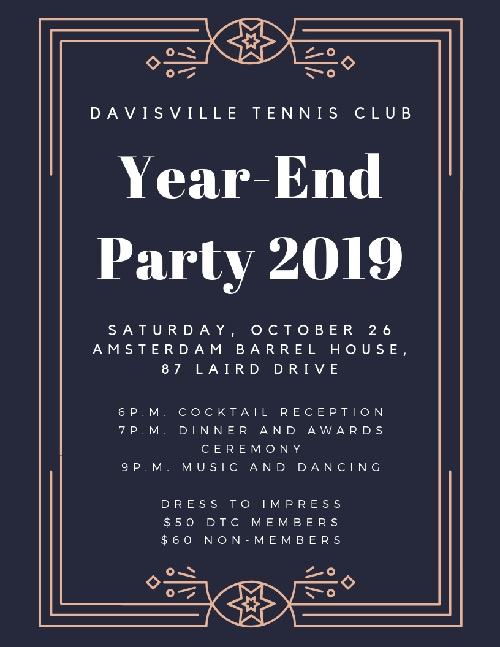 Register now for our year-end party!