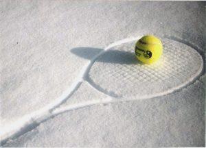 DTC's winter tennis is underway!
